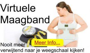 Afvallen met de virtuele maagband